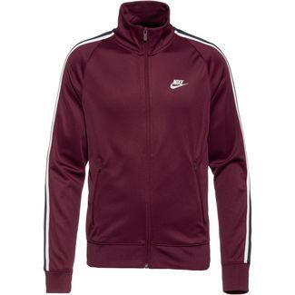 Nike N98 Tribute Polyjacke Herren night maroon-sail