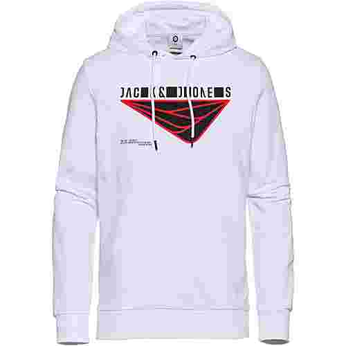 CORE by JACK & JONES JCOBOOSTER Hoodie Herren white