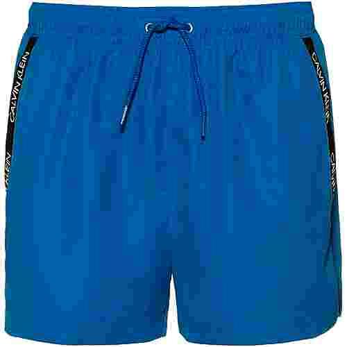Calvin Klein CK LOGO Badeshorts Herren imperial blue