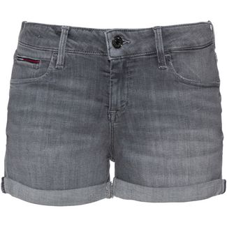 Tommy Jeans Jeansshorts Damen great grey stretch