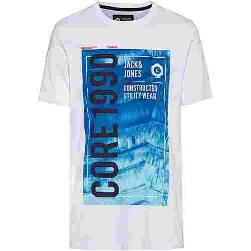 CORE by JACK & JONES JCOJORDAN T-Shirt Herren white