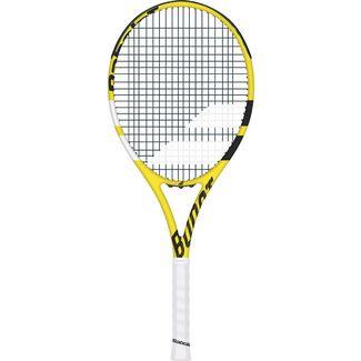Babolat BOOST AERO STRUNG Tennisschläger gelb schwarz