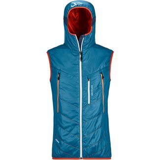 ORTOVOX Piz Boe Outdoorweste Herren blue sea
