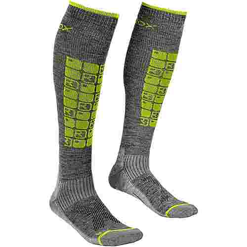 ORTOVOX Ski Compression Skisocken Herren grey blend