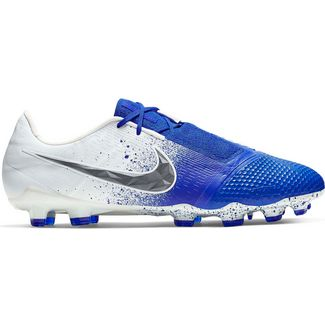 Nike PHANTOM VENOM ELITE FG Fußballschuhe white-black-racer blue