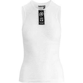 assos Skinfoil NS Summer Base Layer Funktionsshirt holy white