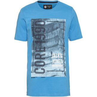 CORE by JACK & JONES JCOJORDAN T-Shirt Herren azure blue