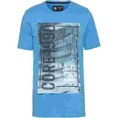 CORE by JACK & JONES JCOJORDAN T-Shirt Herren azure blue