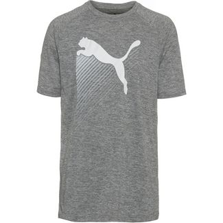 PUMA The Cat T-Shirt Herren charcoal grey heather