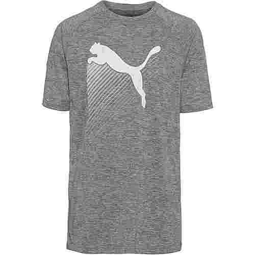 PUMA The Cat T-Shirt Herren charcoal grey heather