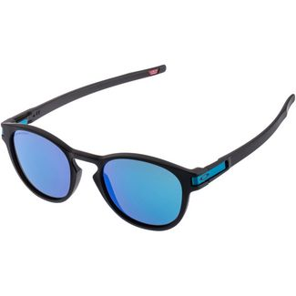 Oakley LATCH Sonnenbrille Matte Black/ PRIZM Sapph