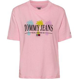 Tommy Jeans T-Shirt Damen roseate spoonbill