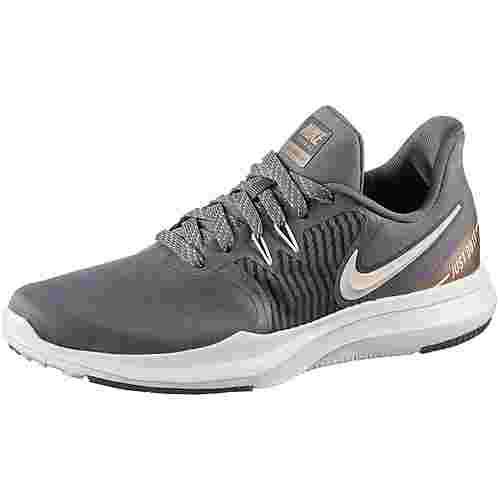Nike In-Season TR 8 Fitnessschuhe Damen gunsmoke-guava ice-mtlc red bronze-sail