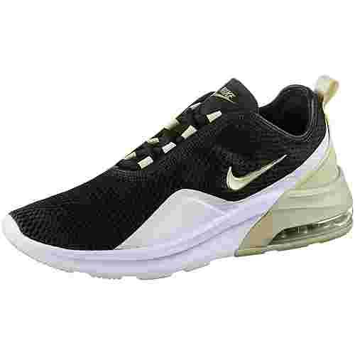Nike Air Max Motion2 Sneaker Damen black-mtlc gold star-white