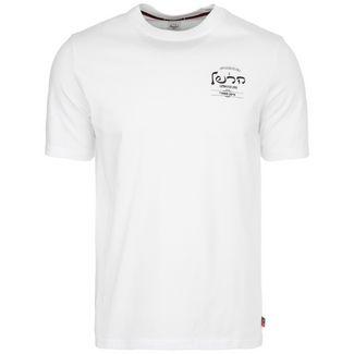 Herschel Tee T-Shirt Herren weiß / schwarz