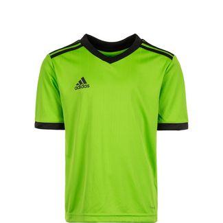 adidas Tabela 14 Fußballtrikot Kinder hellgrün / schwarz