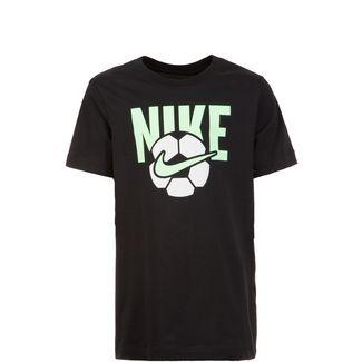 Nike Soccer Ball T-Shirt Kinder schwarz / weiß