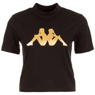 KAPPA Effi T-Shirt Damen schwarz / gold