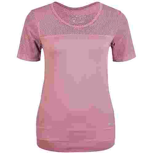 Nike Infinite Laufshirt Damen altrosa / silber