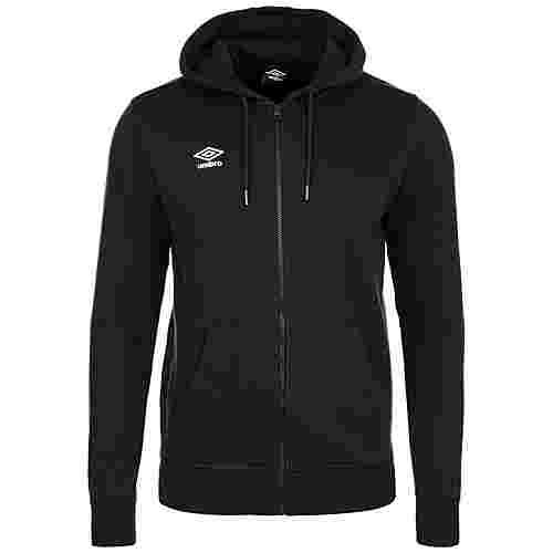 UMBRO Small Logo Trainingsjacke Herren schwarz