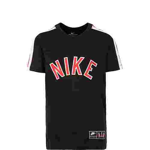 Nike Sportswear Air T-Shirt Kinder schwarz / rot