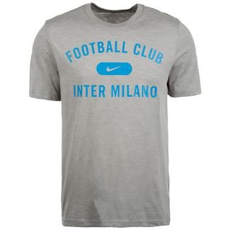 Nike Inter Mailand Dri-FIT Fanshirt Herren dunkelgrau