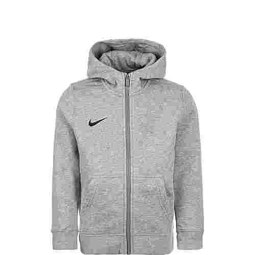 Nike Full Zip FLC Club19 Kinder Hoodie Kinder dunkelgrau / schwarz