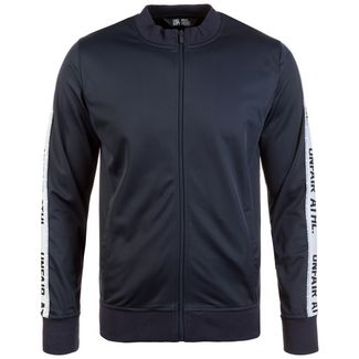 Unfair Athletics Taped Tracktop Sweatjacke Herren dunkelblau
