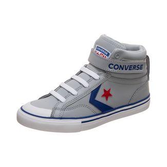 CONVERSE Pro Blaze Strap Sneaker Kinder grau / blau