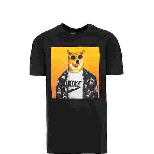 Nike Futura Animal T-Shirt Kinder schwarz / gelb