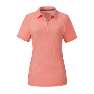Schöffel Polo Shirt Essen1 Poloshirt Damen emberglow