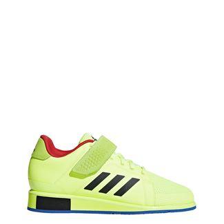 adidas Power Perfect 3 Schuh Hallenschuhe Herren Hi-Res Yellow / Core Black / Blue