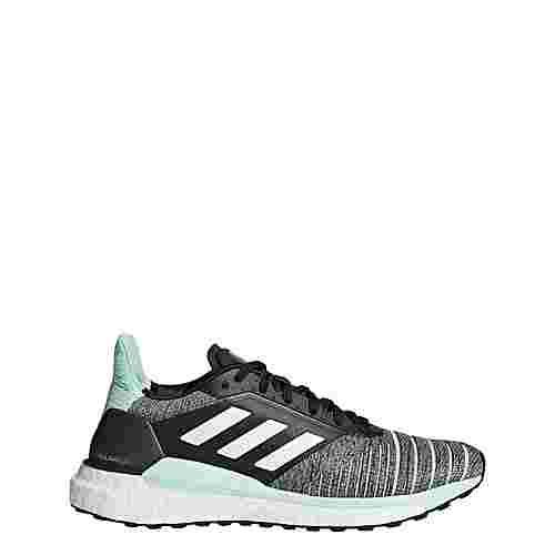 adidas Solar Glide Schuh Laufschuhe Damen Grey / Ftwr White / Clear Mint im Online Shop von SportScheck kaufen