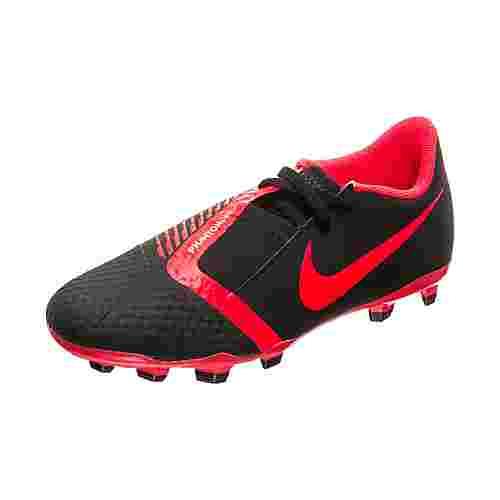 Nike Phantom Venom Academy Fußballschuhe Kinder schwarz / neonrot