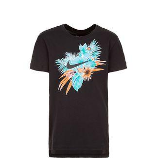 Nike Foliage Futura T-Shirt Kinder schwarz