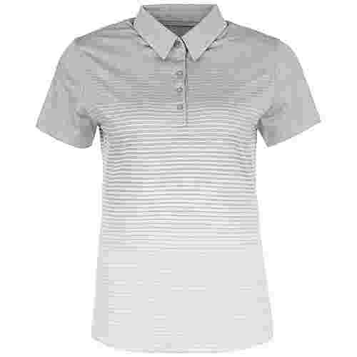 Under Armour Zinger Novelty Poloshirt Damen grau / weiß