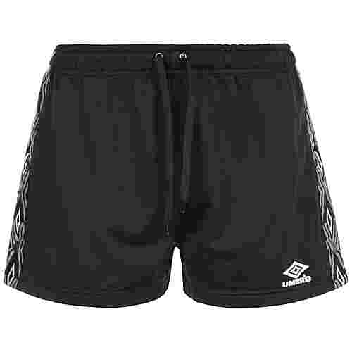 UMBRO Elite Popper Shorts Damen schwarz / weiß