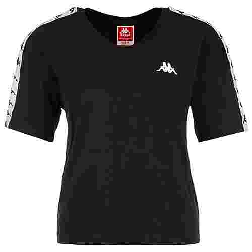KAPPA Eleni T-Shirt Damen schwarz