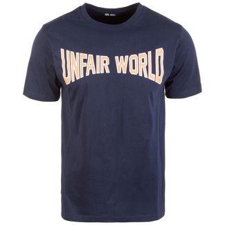 Unfair Athletics Unfair Wolrd T-Shirt Herren dunkelblau