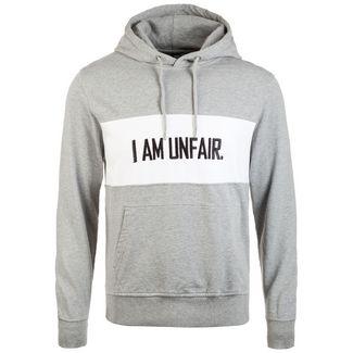 Unfair Athletics I Am Unfair Kapuzenpullover Herren hellgrau / weiß