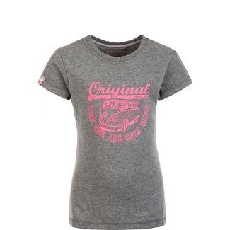 VAN ONE Original Ride T-Shirt Kinder dunkelgrau / rosa