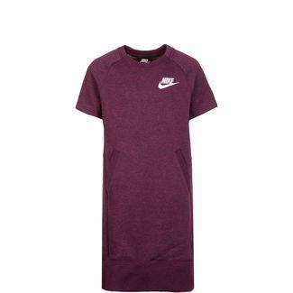 Nike Sportswear Jerseykleid Kinder bordeaux