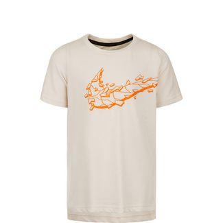 Nike Breathe Hyper Dry Funktionsshirt Kinder beige / orange