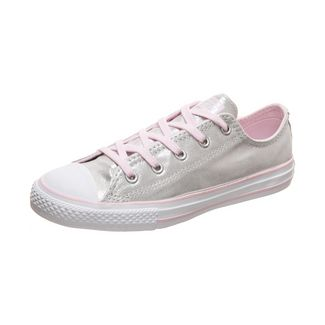 CONVERSE Chuck Taylor All Star Sneaker Kinder silber / rosa