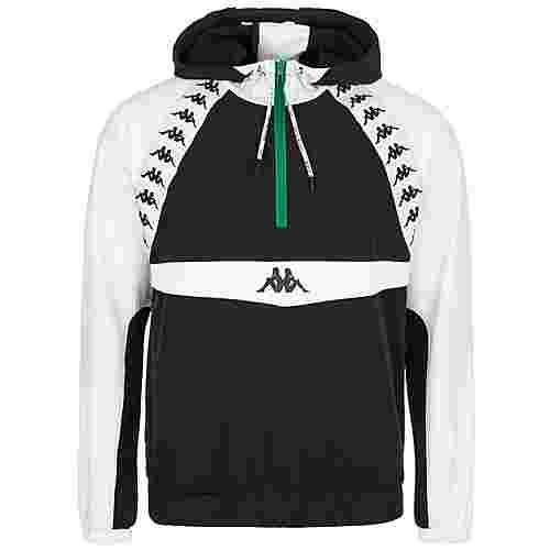 KAPPA Authentic Bakit Sweatjacke Herren schwarz / weiß