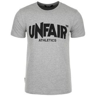 Unfair Athletics Classic Label Boston '19 T-Shirt Herren hellgrau / schwarz