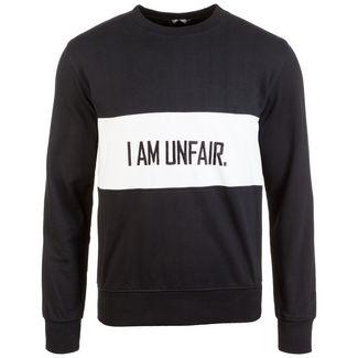 Unfair Athletics I Am Unfair Sweatshirt Herren schwarz / weiß