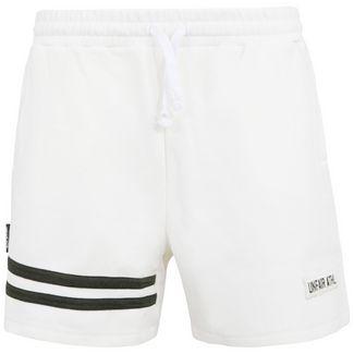 Unfair Athletics DMWU Pique Tennis Bermudas Herren weiß / schwarz