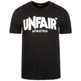 Unfair Athletics Classic Label T-Shirt Herren schwarz / weiß