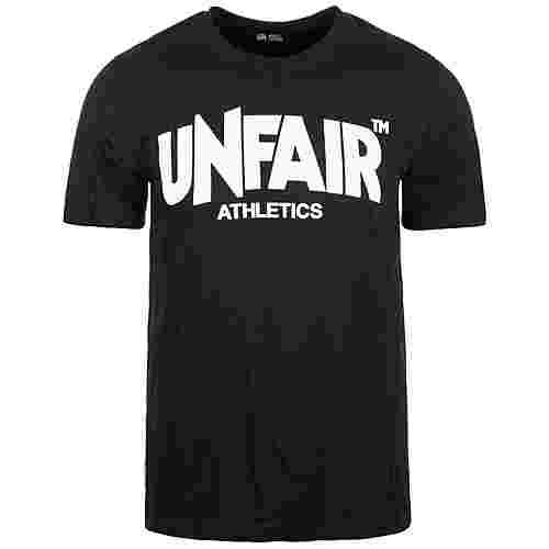 Unfair Athletics Classic Label T-Shirt Herren schwarz / weiß